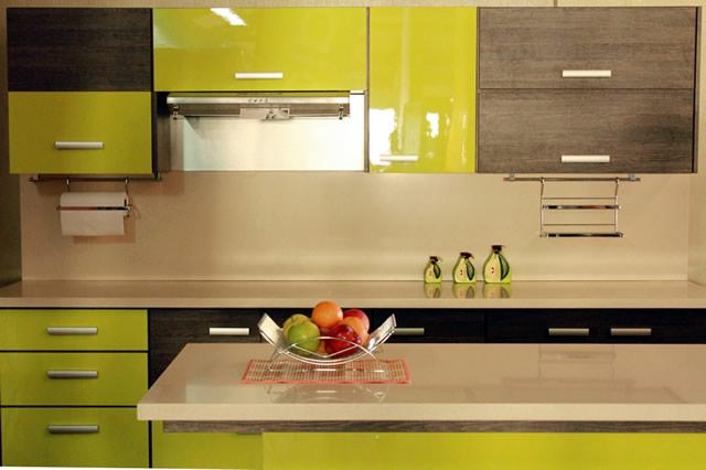 Mueble de cocina expuesto en la feria de muebles palmares 2014 - Muebles de cocina modernos fotos ...
