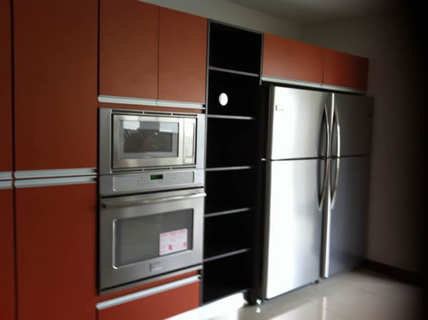 mueble para cocina con electrodom sticos empotrados