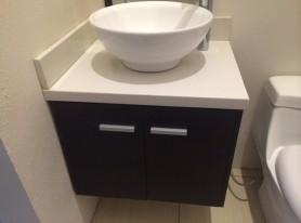 Mueble para lavatorio encimero